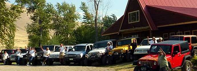 Jeep Jamboree at Wagonhammer Idaho RV Park