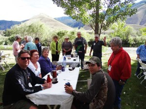 Foretravel events, Wagonhammer Campgrounds Idaho