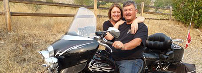 Bikers visit, Idaho Biker friendly campgrounds