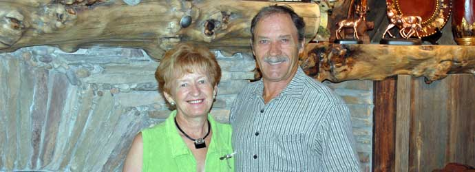 RV Park Owners Abner and Shirley Schultz