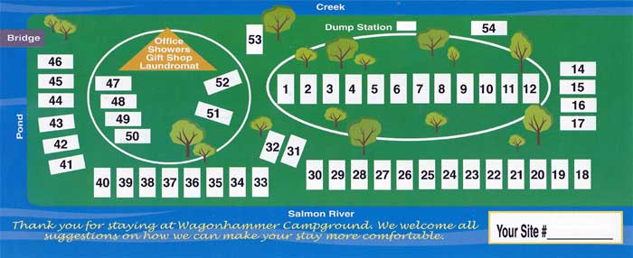 Rates Idaho Wagonhammer Rv Park Campground