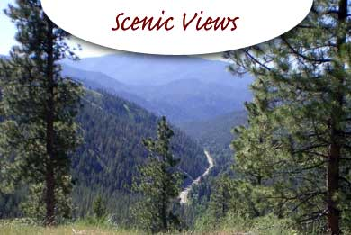 Scenic Views near North Fork Idaho