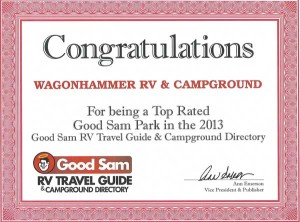 Good Sam Award Wagonhammer RV Park