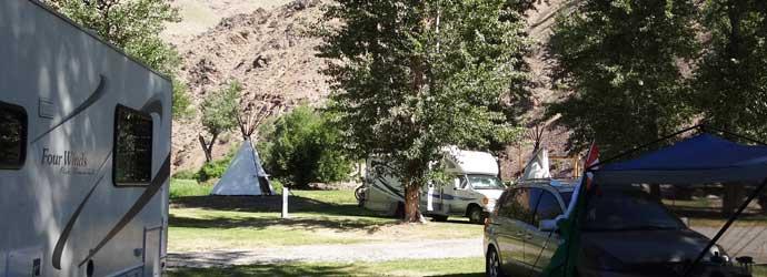 Rocky Mountains, RV Parks, Wagonhammer Campground