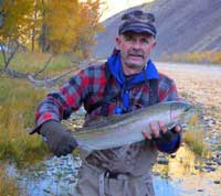 Salmon River Steelhead Fishing, Idaho