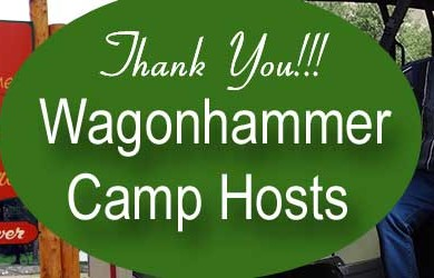 Thank You Wagonhammer RV Park Camp Hosts 2014