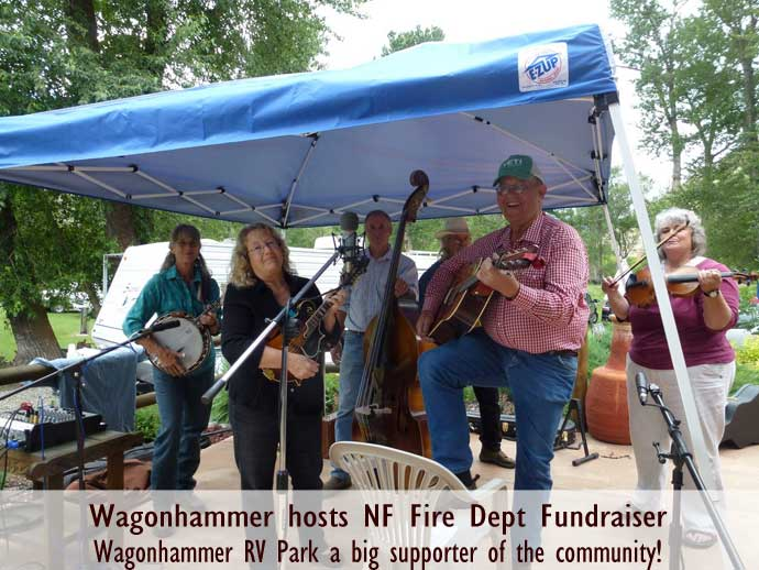 Fundraisers at Wagonhammer Campground