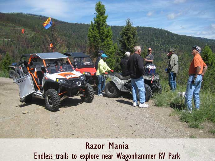 Razor Mania, Idaho Trails