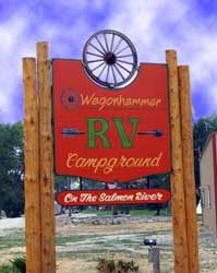 Idaho Campgrounds, Wagonhammer