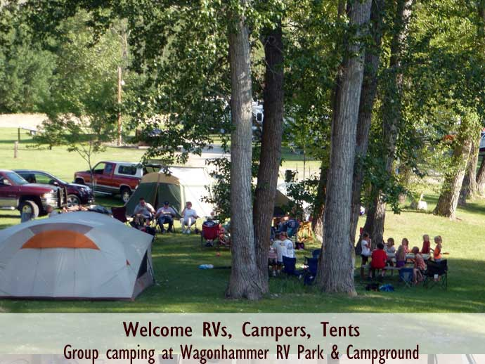 Idaho group camping destinations