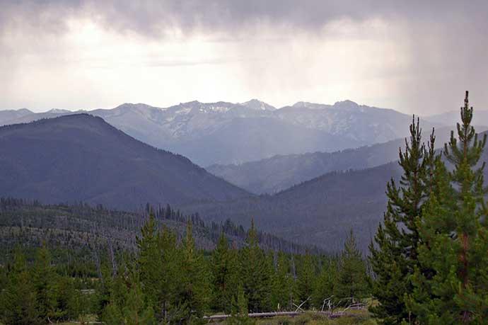 Mountain Views, Jeep Run