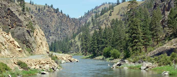 The Salmon River