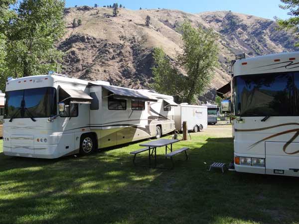 Big Rig Friendly Camping