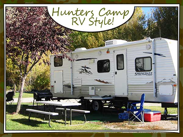 Hunting RV Campgrounds