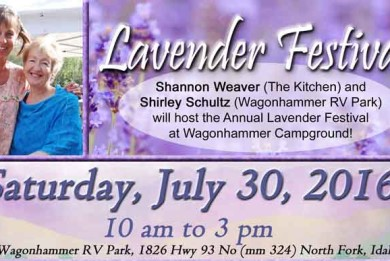 Lavender Festival 2016 Hosted at Wagonhammer RV Park